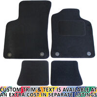 Audi TT MK 1 1999-2006 Fully Tailored 4 Piece Car Mat Set with 4 Clips