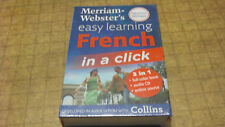 Merraim- Websters Easy Learning French New never opened Collins free shipping