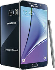 NEW Samsung Galaxy Note 5 N920 32GB 64GB Sprint Black Sapphire Blue Smartphone