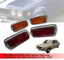 1 Set Side Maker Indicator Light For Datsun 510 120Y 280Z 240Z 260Z 1968-1978