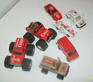 Lot of 7 Coca Cola 1/64 Die Cast