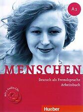 Hueber MENSCHEN A1 Arbeitsbuch mit 2 Audio-CDs Deutsch als Fremdsprache @NEW@