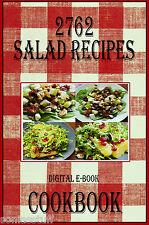 2762 Delicious Salad Recipes E-Book Cookbook CD-ROM