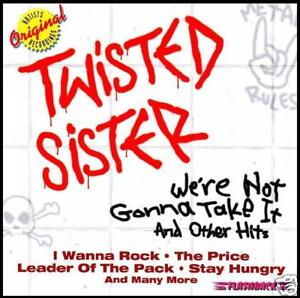 TWISTED SISTER - WE'RE NOT GONNA TAKE IT : GREATEST HITS CD ~ 80's BEST OF *NEW*