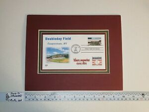 2001 34c USPS Stamp 3517 Legendary Baseball Field Comiskey Park MLB HOF Envelope