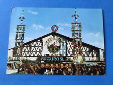 Vintage Postcard Post Card PSCHORR Bräurosl Oktoberfest German