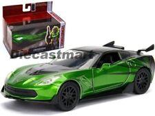 Véhicules miniatures verts Jada Toys en plastique
