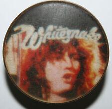 WHITESNAKE Old/Vtg 70s/80s Crystal/Enamel Metal Pin Badge not shirt lp cd patch