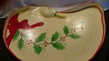 Vintage Paper Mache' Serving Tray or Decor From Thailand for Silvestri Signed