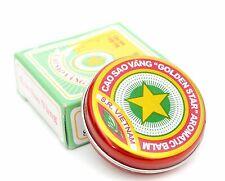 10g Vietnamesische Balsam Golden Star Balm Erkältung Kopfschmerzen Звездочка