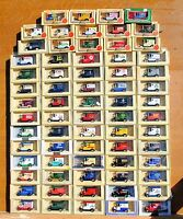 LLEDO PROMOTIONAL MODELS  1920's FORD MODEL 'T' VANS CHOOSE FROM LIST LOT 6