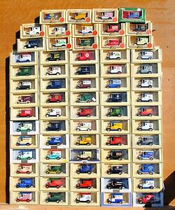 LLEDO SCARCE PROMOTIONAL MODELS 1920's MODEL 'T' FORD - CHOOSE FROM LIST LOT LP6