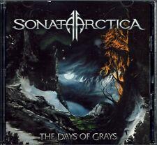 Sonata Arctica - The Days Of Grays 2CD Japanese Release With OBI & Bonus Tracks