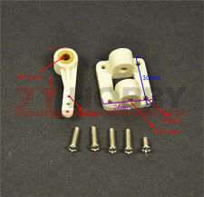 RC Airplane Front Wheel Steering Seat Base With Steering Arm Hole Size 4.1 mm