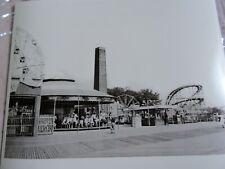 1942 Coney Island Steeplechase Park Rollery Coaster Carousel Brooklyn NYC Photo