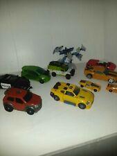 Lot Of 10 Transformer Vehicles