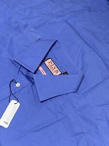 NEW - Thomas Pink Blue Classic Fit Dress Shirt Men's 17-35. A287