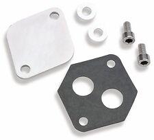 Holley Choke Block-Off Plate IAC Block-Off Plate