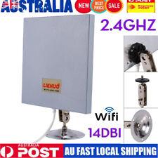 AU Antenna Panel 2.4 GHZ 14 DBI High Gain WiFi Wlan SMA Directional Long Range T