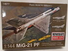 Minicraft Model Aircraft Kit 14677 - 1/144 Scale - MiG-21 PF