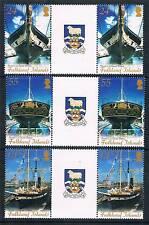 Falkland Is 2006 Brunels SS Gt.Britain GUTTER PAIRS SG 1043/5 MNH