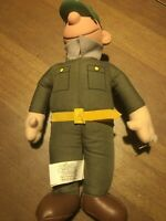 Army Private BEETLE BAILEY plush TOY WORKS 2000. 9.5 Inches
