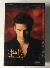 """Sideshow Collectibles Buffy The Vampire Slayer 12"""" Human Angel In Trenchcoat"""