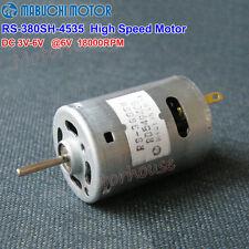 Mabuchi RS-380SH Small Motor DC 3V~6V 18000RPM High Speed Torque Electric Tool