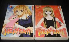 HEAVEN Vol.1-2 Books Graphic Novel Manga Comic lot