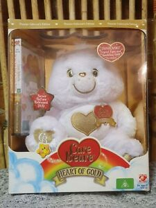 Care Bears Swarovski Heart Of Gold Premier Collector's Edition with DVD