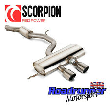 "SCORPION GOLF R MK6 dispositivo SILENZIATORE 3"" CAT BACK consonanza più silenzioso SVW038"
