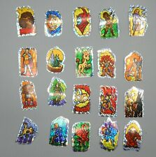 20 Rare Spanish vintage TSR Dungeons & Dragons CARTOON sticker lot Spain VENGER