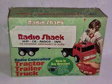 Vintage RadioShack RC Toy Truck in Box Radio Shack Radio Controlled Mercedes