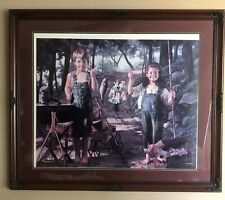 "BOB BYERLEY ""Summer Snapshot"" 30"" X 24"" SIGNED, FRAMED, MATTED, Numbered Print"