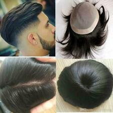 Mono Base 100% Original Human Hair System Mens Toupee (Delivery in 7-8 days)
