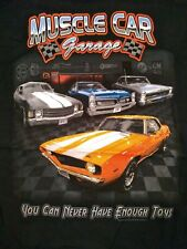 MUSCLE CAR GARAGE CHEVY T-shirt GTO 1957 CHEVY MORE. LOOK