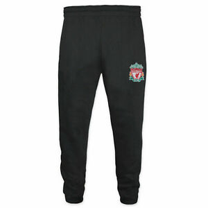 Official Liverpool FC Football Jog Pants Boys 10 11 Years Kids Tracksuit Bottoms