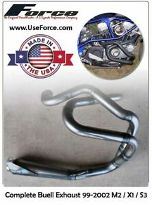 Buell M2 / X1 / S3 Complete Exhaust by ForceWinder