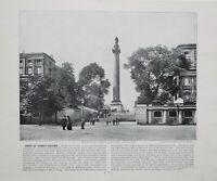 1896 London Stampa Con (Testo Duca Di YORK Colonna Carlton Casa