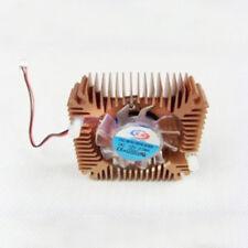 1Pcs Aluminum Heatsink + fan for 5W/10W High Power LED Cooling Cooler DC12V Sets