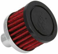"62-1030 K&N Vent Air Filter 1"" ID MALE crankcase breather 19mm - 25mm"