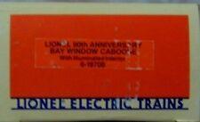 LIONEL 6-19708   90th ANNIVERSARY BAY WINDOW CABOOSE   NEW