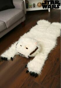 Officially Licensed Star Wars Anti-Skid Realistic Replica Fuzzy Wampa Area Rug