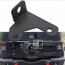 Car CB Antenna Mount Holder Bracket For 07-17 Jeep Wrangler Spare Tire Carrier