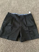 Mens Brooks Brothers Light weight Black Chino Short Size 42