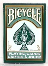 Fashion Dark Green Deck Bicycle Playing Cards Poker Size USPCC Custom Sealed New