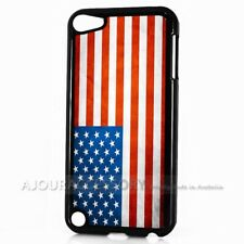 ( For iPod Touch 6 ) Back Case Cover AJ10829 American Flag