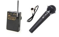 Pro AX1 WHM XLR M wireless handheld mic for Sony AX2000 Z1U Z5U Z7U V1U S270U