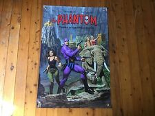 Printed bar flag tough vinyl print marvel The phantom MAN CAVE pool room poster