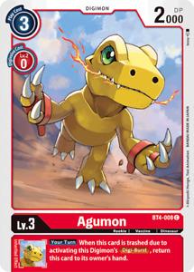 Digimon 2020 TCG BT04   C (Common), UC (Uncommon), R (Rare) Singles   25% Off 4+